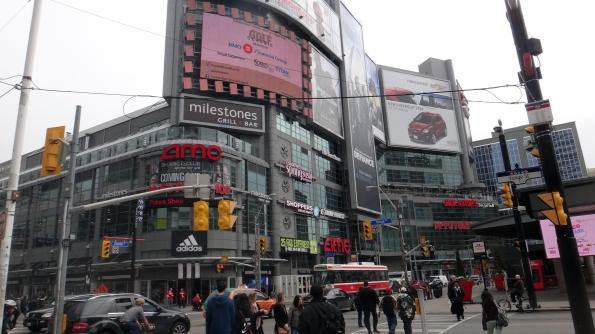 Yonge-Dundas Square: Mini-Times Square