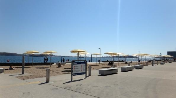 A praia daqui