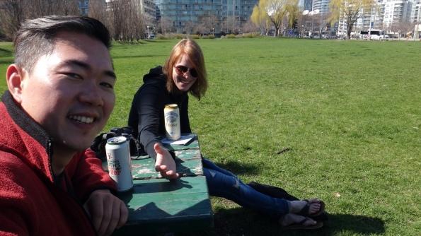 Breja no parque