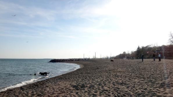 Galera na praia